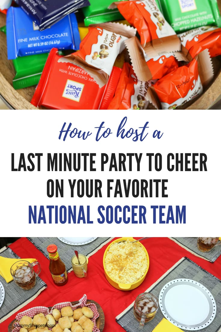 How to host a last minute party to cheer on your favorite national soccer team- MommySnippets.com #GoalWorldMarket #Sponsored @WorldMarket