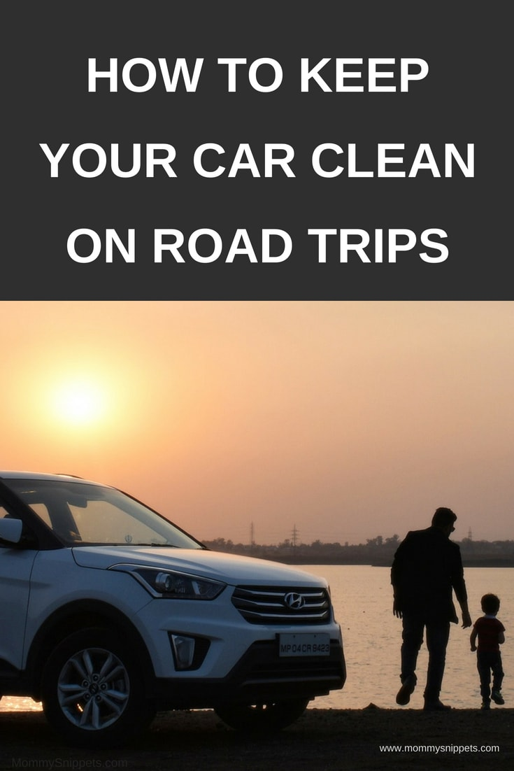 How to keep your car clean on road trips_ MommySnippets.com