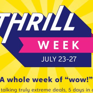 Don't miss the first zulily Thrill Week (7/23-7/27)