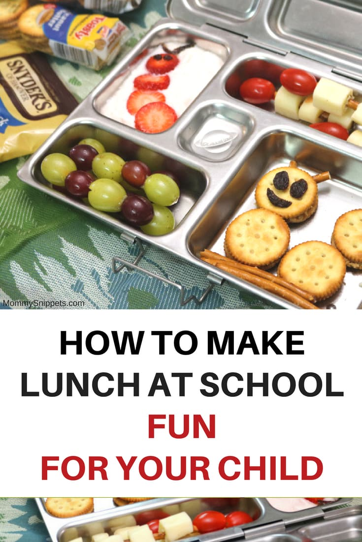 One way you can make lunch at school fun for your child- MommySnippets.com #LunchesWithLove #PackedWithLove #CollectiveBias #Sponsored