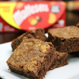 Decadent Malteser Brownies