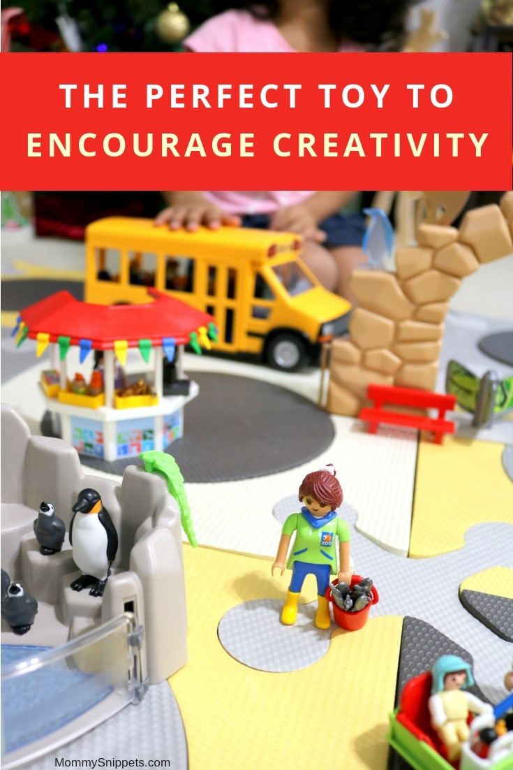 The perfect toy to encourage creativity in a child- MommySnippets.com #PlayWithPLAYMOBIL #CollectiveBias #Sponsored