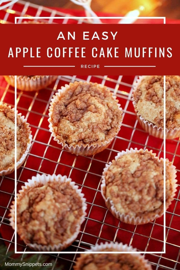 How to Make Delicious Apple Coffee Cake Muffins With Nuts