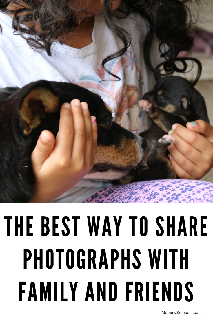 The best way to share photographs with family and friends- MommySnippets.com #Meetibi #IC #sponsored