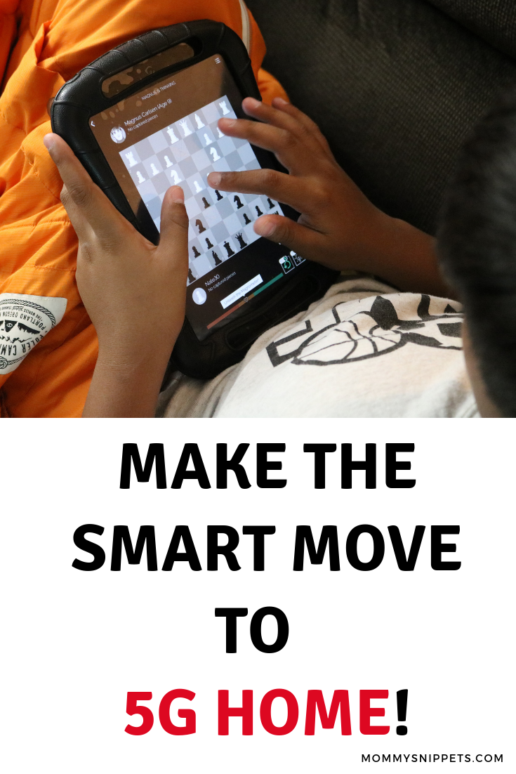 Make the smart move to 5G Home!_ MommySnippets.com #Verizon5GFuture #sponsored