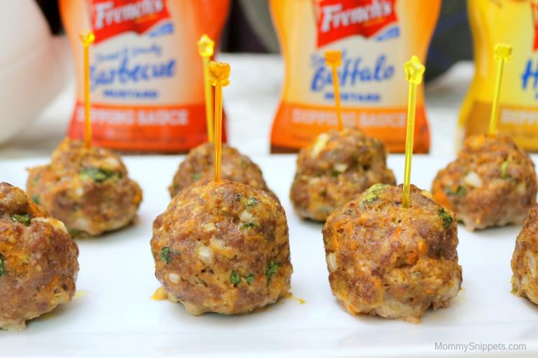 The best oven baked meatballs with hidden vegetables