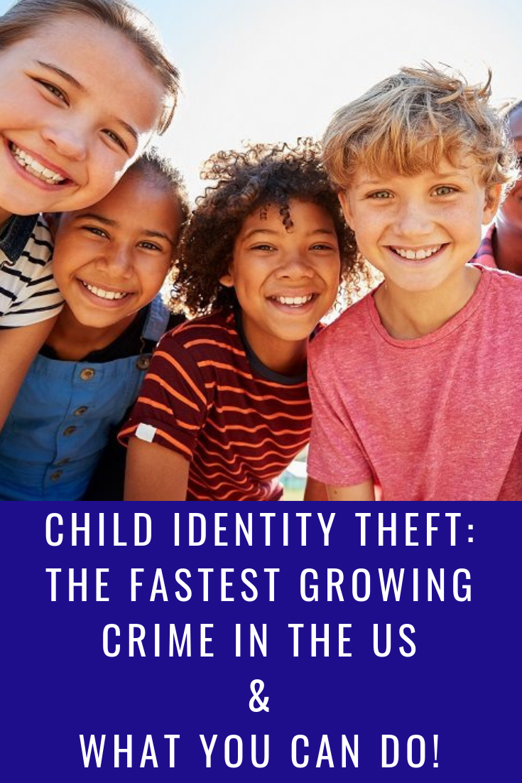 Child identity theft is the fastest growing crime in the US- What Can You Do_ with MommySnippets.com #sponsored #identitytheft #childidentitytheft #identron #identitytheftprotection