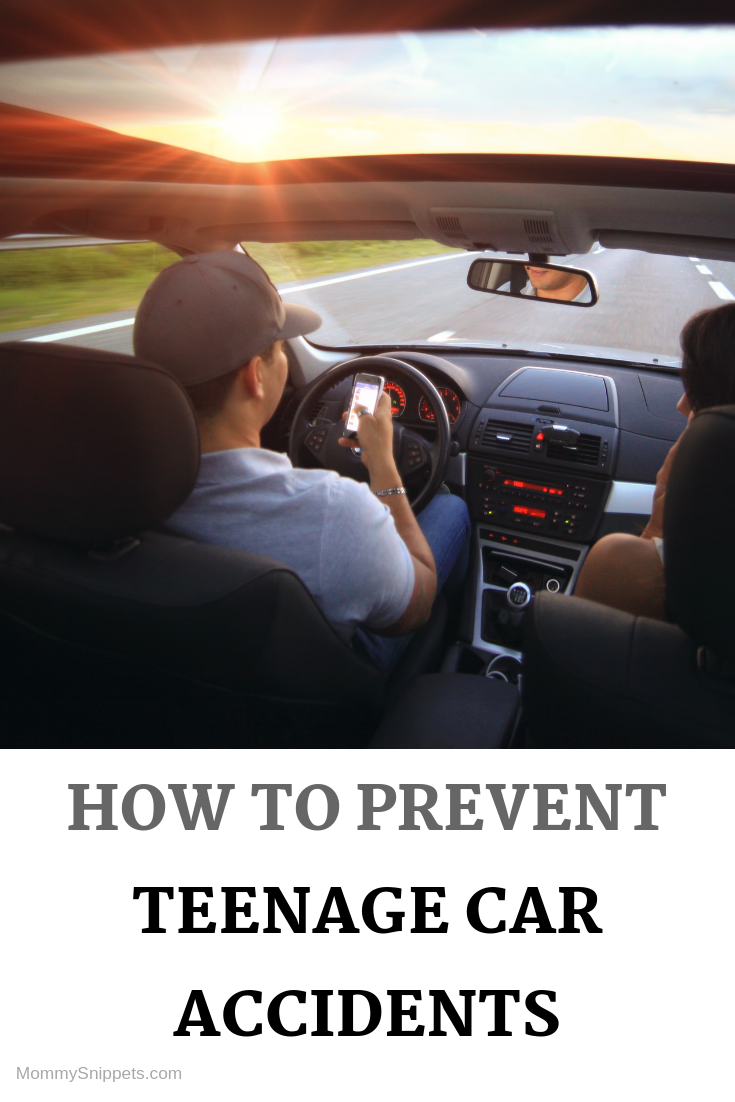 How to prevent Teenage Car Accidents with MommySnippets.com