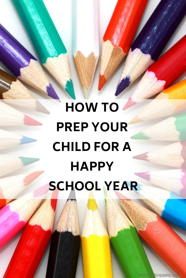 Prep your child for a happy school year!- MommySnippets.com #BackToSchool #Amazon #Sponsored #HappySchoolYear