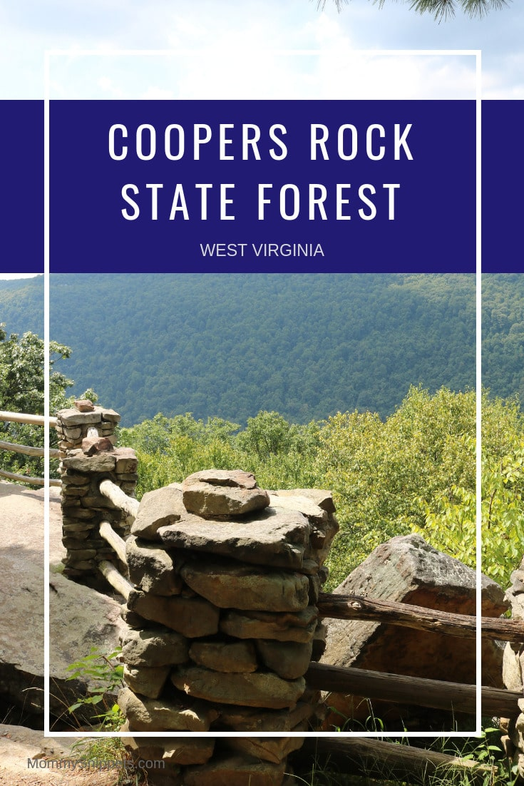The breathtaking Coopers Rock State Forest -MommySnippets.com #almostheaven @WVTourism #hosted @tourmorgantown #wvpartner #MSTeamTravels #Morgantown