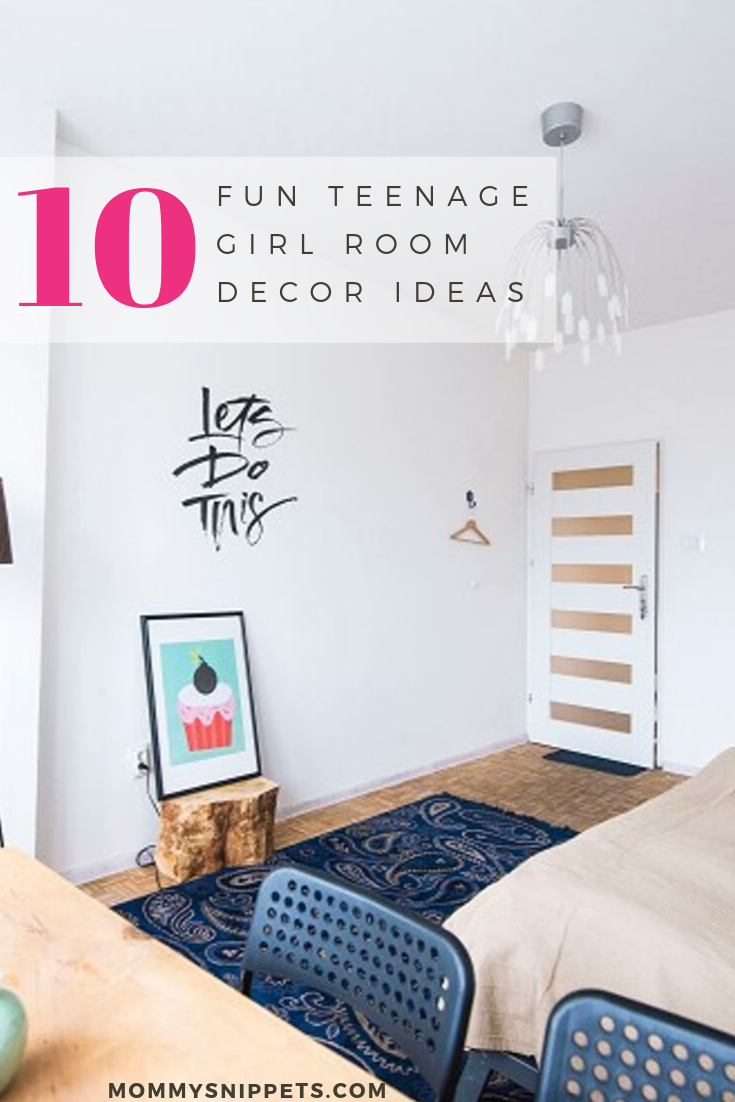10 Fun Teenage Girl Room Decor Ideas - Mommy Snippets