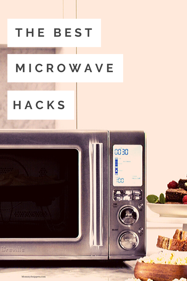 The best Microwave Hacks- MommySnippets.com #ad #CombiWave @BestBuy @BrevilleUSA #Breville #WaveMic #BrevilleWave #WaveHello