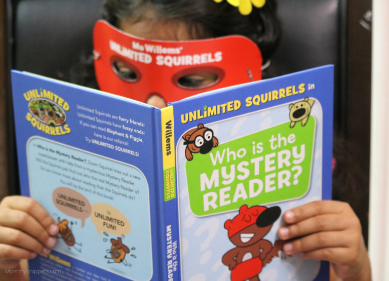 """Mo Willems latest book """"Unlimited Squirrels : Who is the Mystery Reader?"""" is here!"""