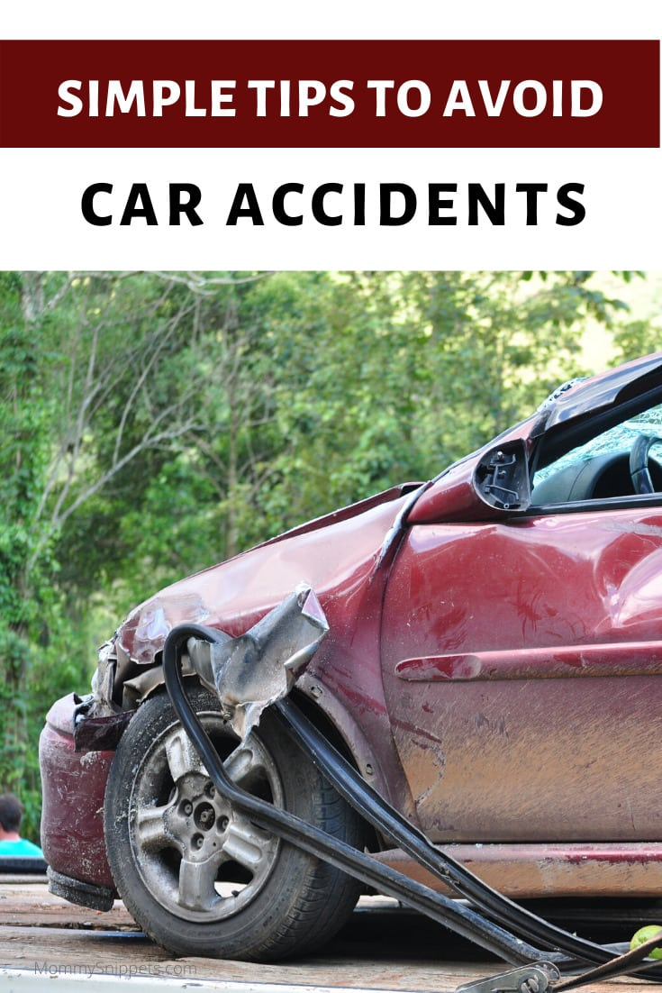 Simple tips to help avoid car accidents- MommySnippets.com #sponsored