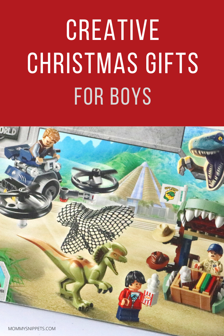 CREATIVE CHRISTMAS GIFTS FOR BOYS- MOMMYSNIPPETS.COM