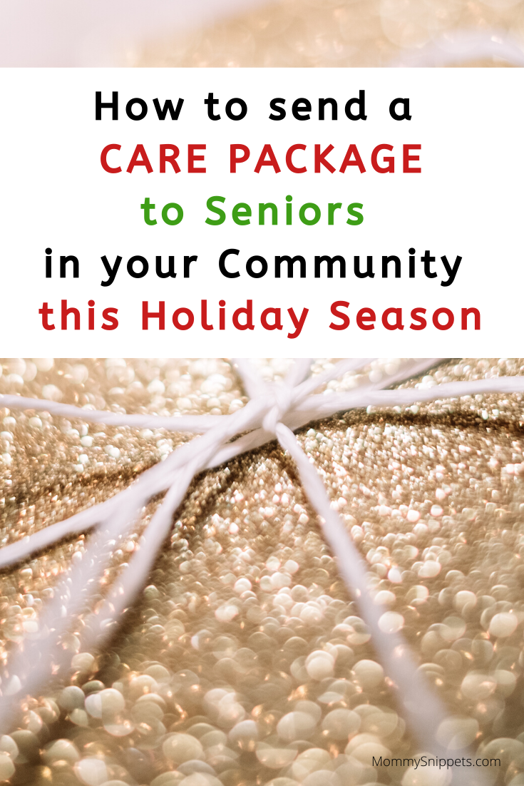 How to Send a Care Package to Seniors in Your Community This Holiday Season- MommySnippets.com
