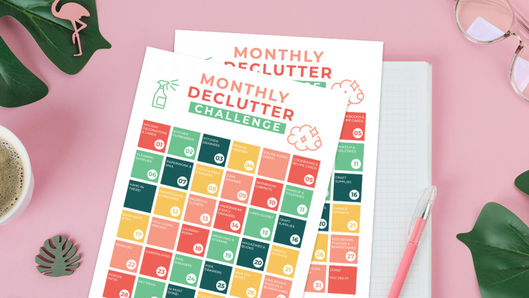 How to Be a Blessing to The Community (+ Free Printable Monthly Declutter Challenge Sheet.)