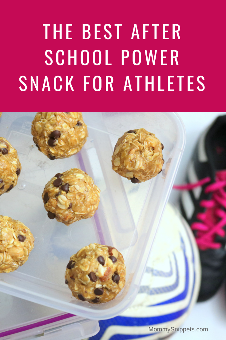 The best after school Power Snack for athletes -MommySnippets.com #RXatWalmart #ad