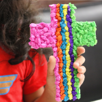 An easy Cross craft to encourage a child's faith.