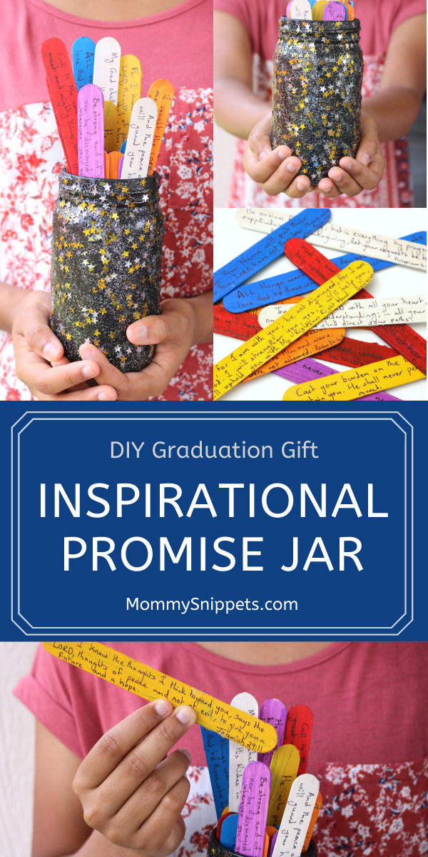 DIY Graduation Gift-Inspirational Promise Jar