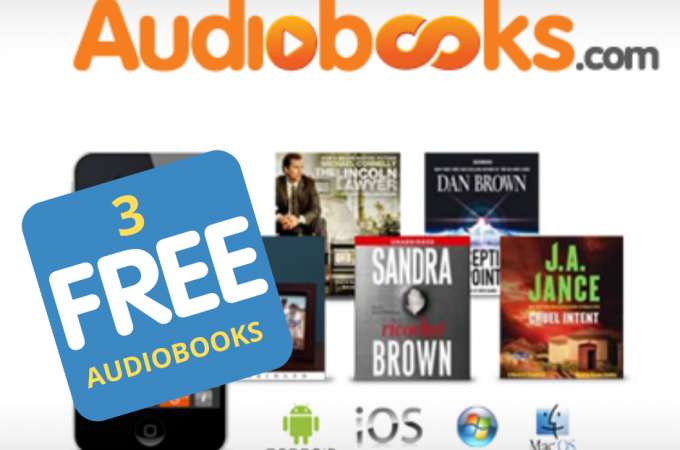 Catch up on reading with Audiobooks {+ Grab 3 FREE AUDIOBOOKS on your FREE trial offer}