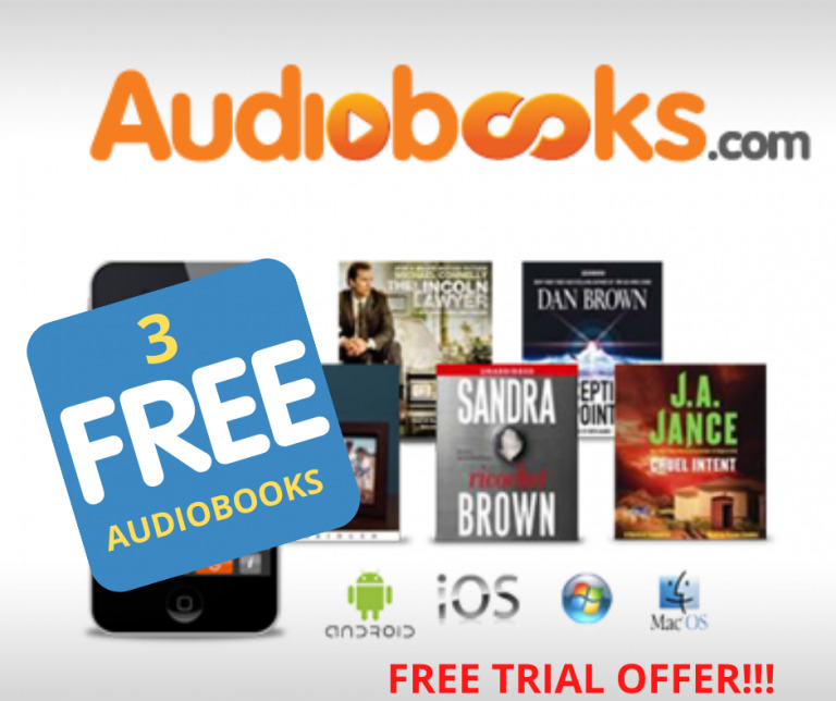 Catch up on reading with Audiobooks {+ 3 FREE AUDIOBOOKS}