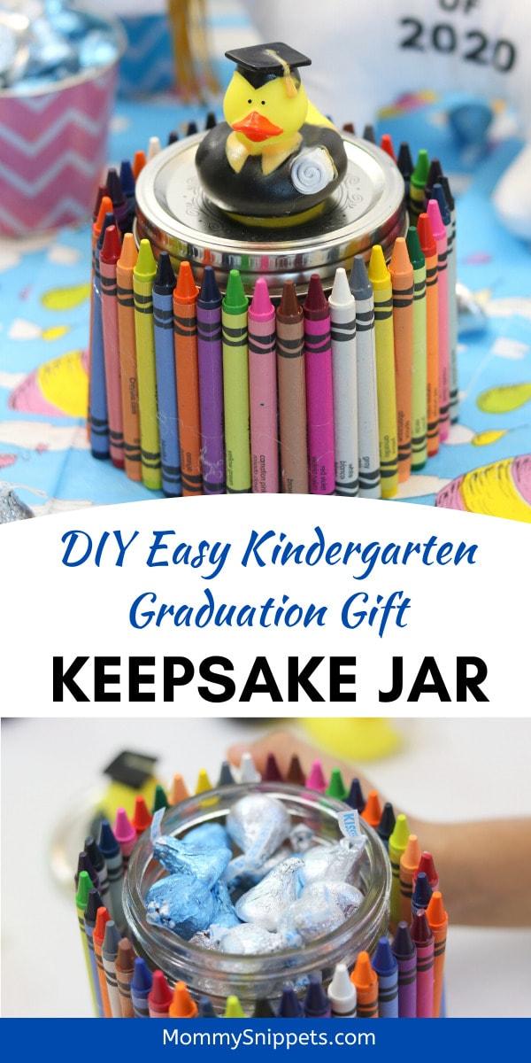DIY Easy Kindergarten Graduation Gift_ A Keepsake Jar