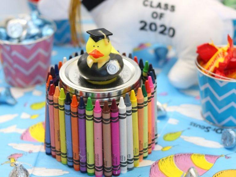 DIY Easy Kindergarten Graduation Gift: A Keepsake Jar