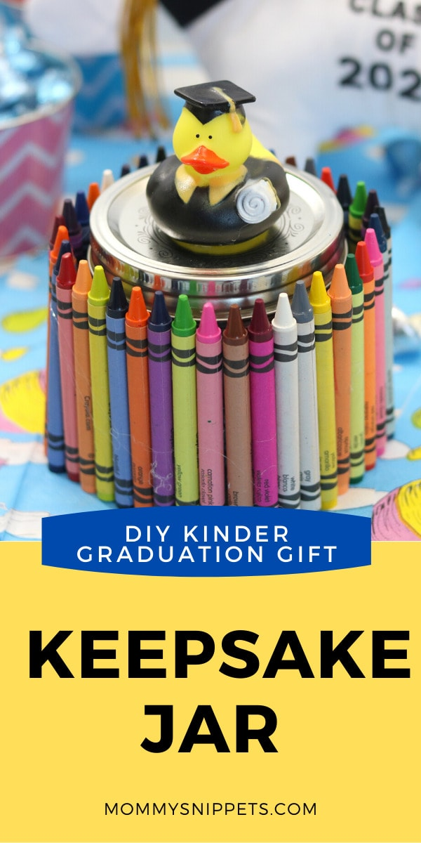 How to make a Kinder Graduation Gift: A Keepsake Jar