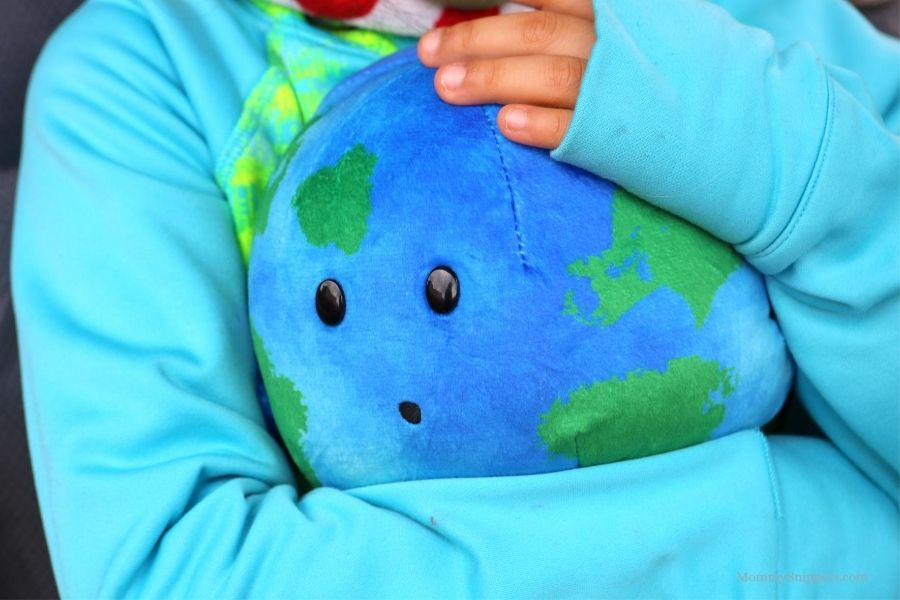 Celestial Buddies Little Earth Plush and Moon