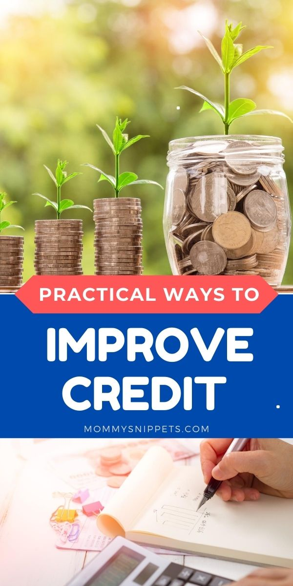 Practical ways on how to improve credit - my family's testimony: MommySnippets.com
