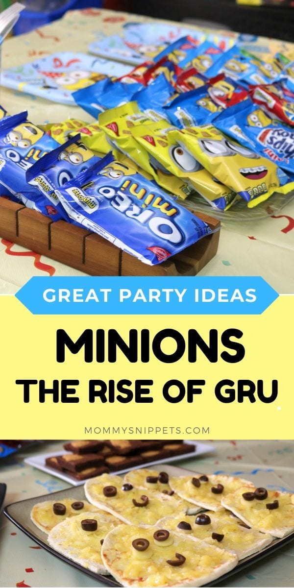 How to make your Minions: The Rise Of Gru party unforgettable.