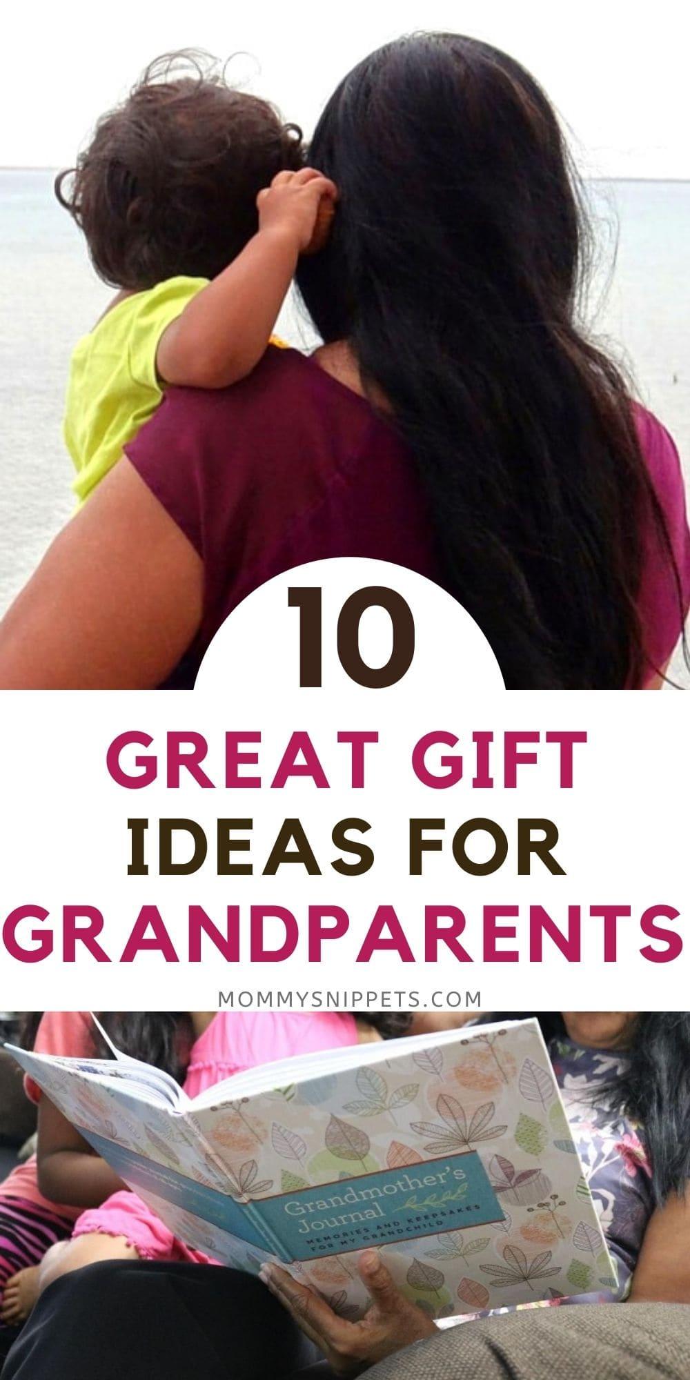 10 Ideas for Grandparents Day Gifts Grandpa and Grandma will love