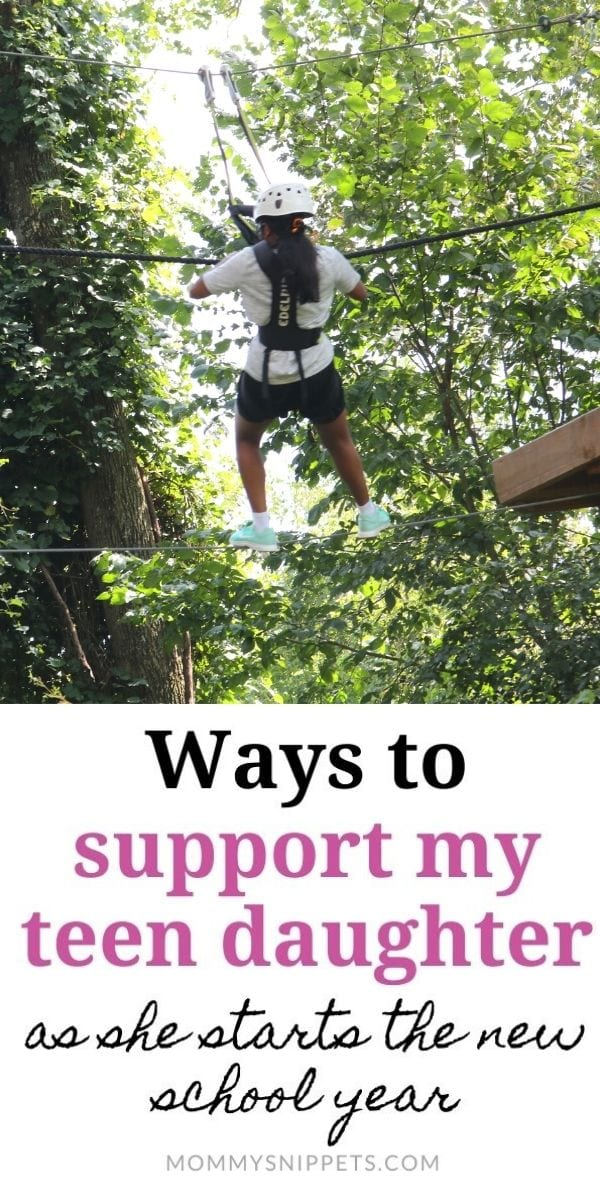 Ways to support my teen daughter as she starts the new school year