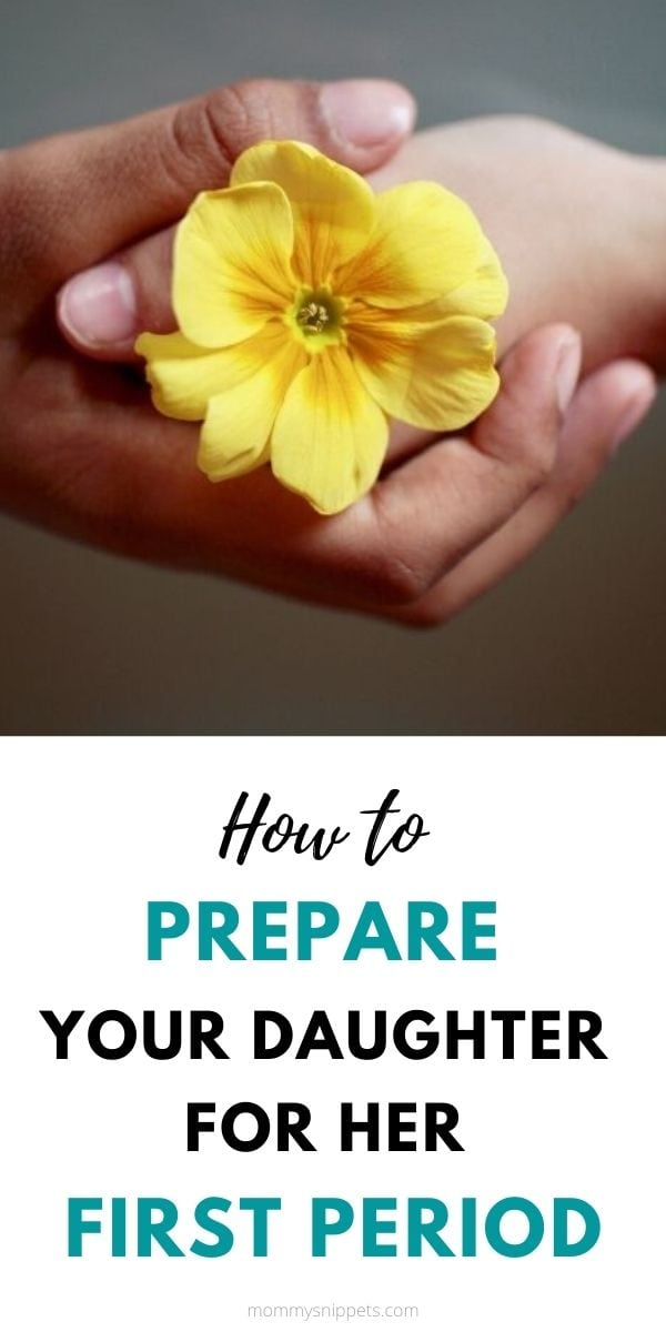 How to Prepare your Daughter for her First Period- MommySnippets.com