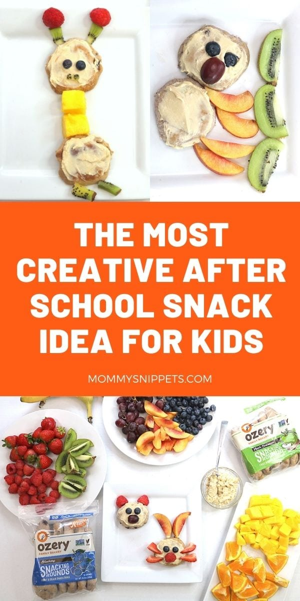 The most creative after school snack idea for kids- MommySnippets.com