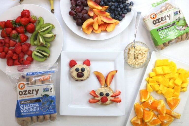 The Most Creative After School Snack Idea for Kids (+ Printable Animal Activity Booklet for Kids)