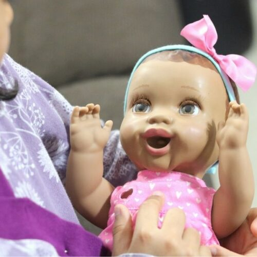 Mealtime Magic Maya-The Adorable Interactive Baby Doll