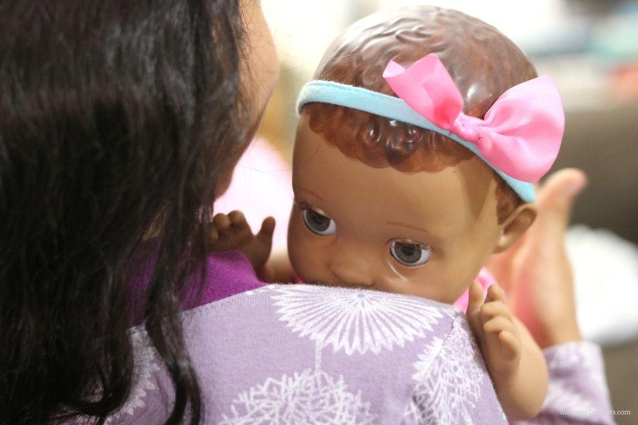 Mealtime Magic Maya-The Adorable Interactive Baby Doll