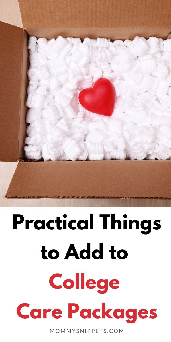 Practical Things to Add to College Care Packages