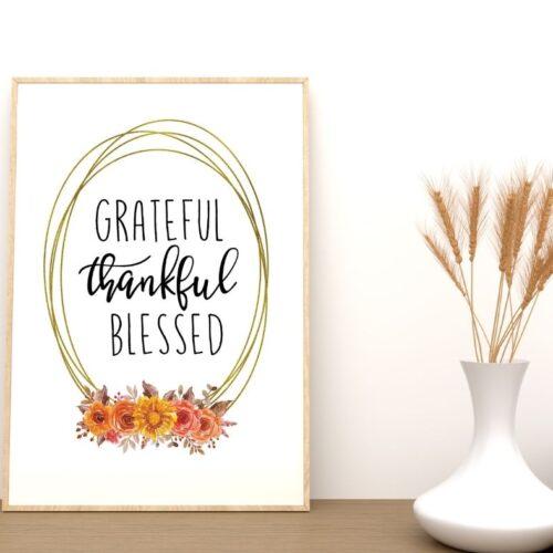 Grateful Wall Art