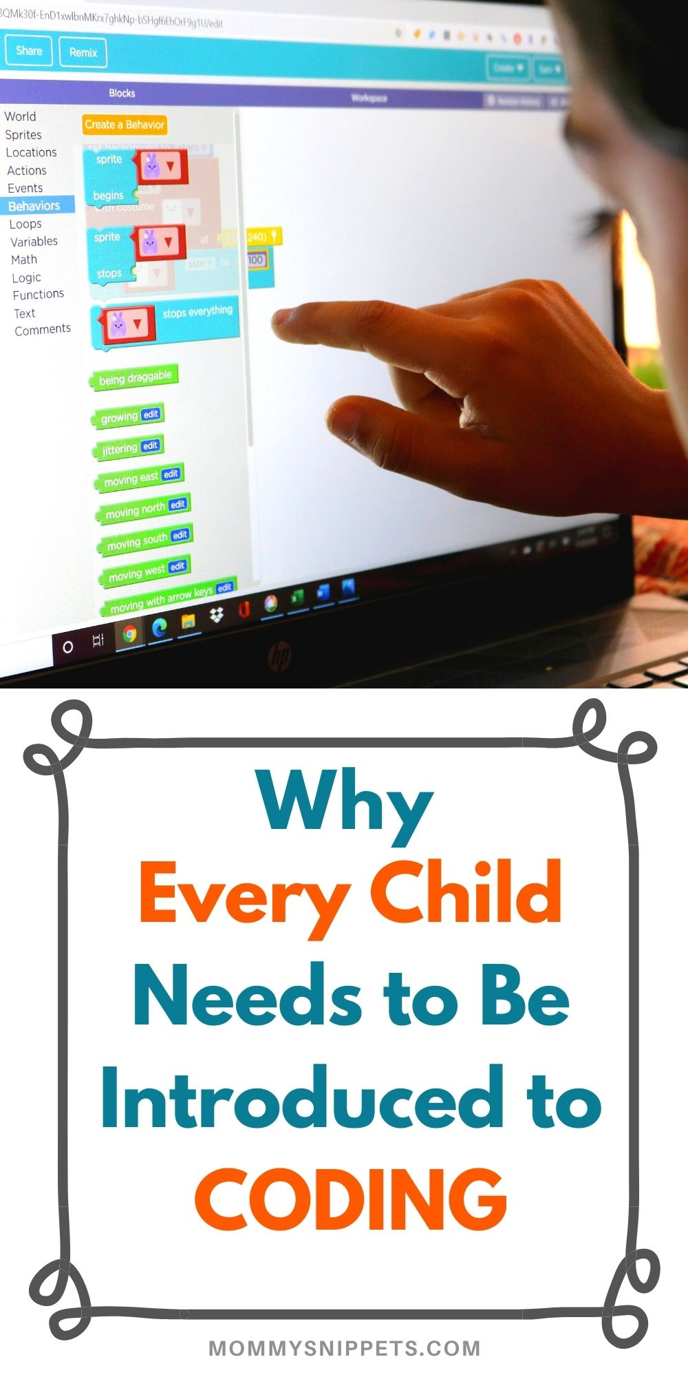 Why Every Child Needs to Be Introduced to Coding- MommySnippets.com