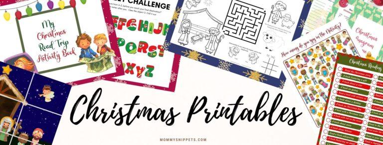 The Free Christmas Printables Hub