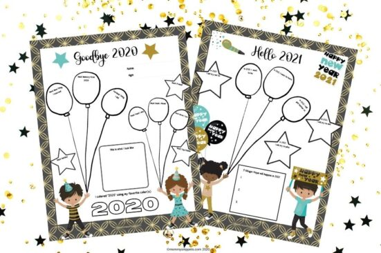 Free Printable New Year's Eve Activity for Kids