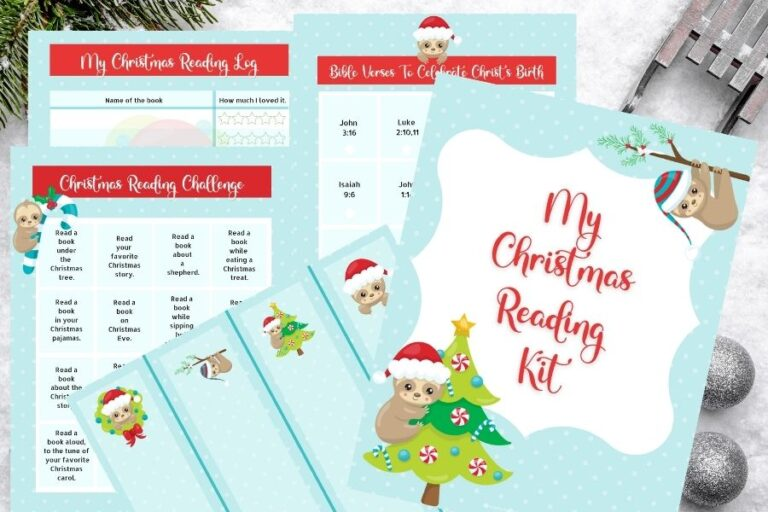 Books That Celebrate the Story of Christmas (+ A Free Printable Christmas Reading Challenge Kit for Kids)
