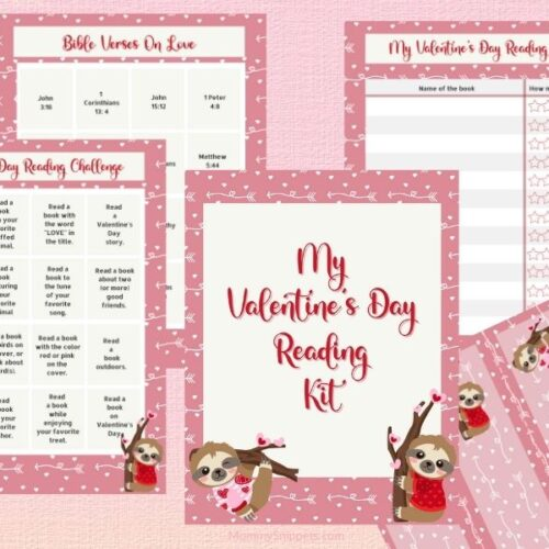 Valentine Reading Challenge Kit