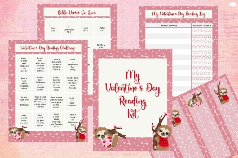 A Valentine Reading Challenge Your Kids Will Love! (+Free Printable Reading Kit)
