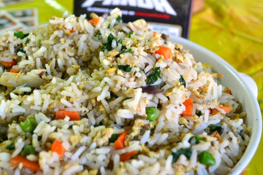 Easy Fried Rice without Soy Sauce