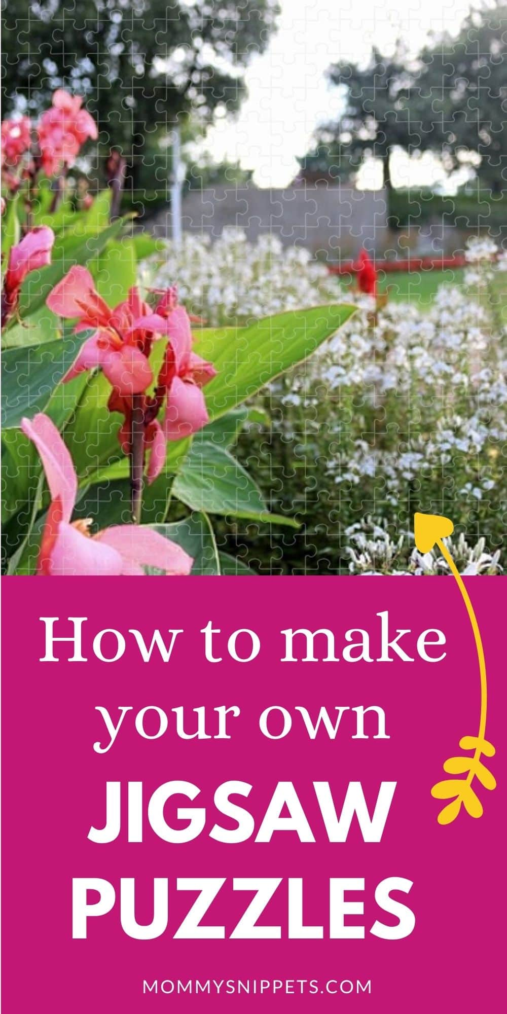 How to make your own jigsaw puzzles