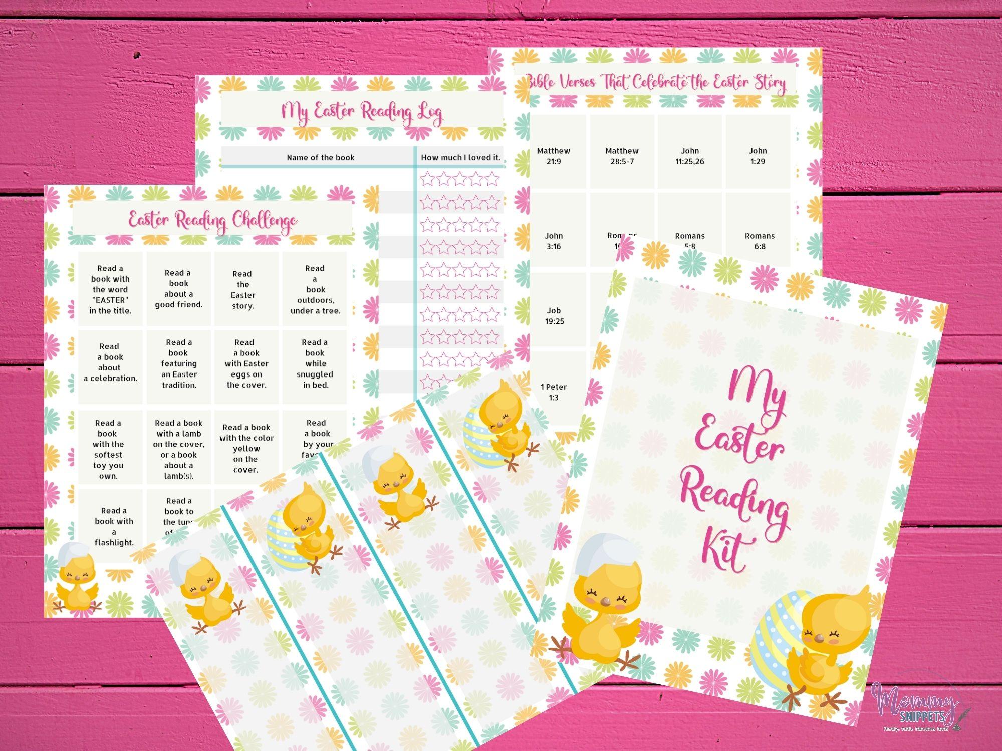 Easter Reading Challenge Kit